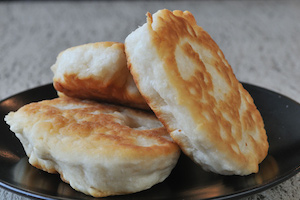 Some of the fine bannock from Neechi Foods in winnipeg.