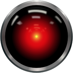 I can't help but unashamedly enjoy being able to use one of the great cliche images on the internet, the 'camera eye' of the rogue computer in 2001: A Space Odyssey.