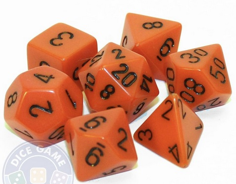 Sample of various gaming dice, courtesy of the dice game depot via pinterest.