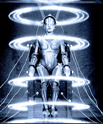 Still from the 1927 film Metropolis, directed by Fritz Lang.