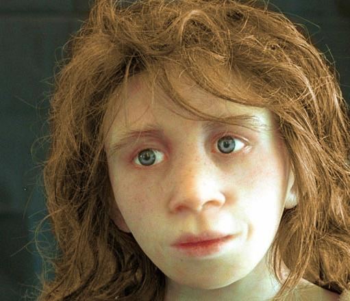 Neanderthal facial reconstruction. Image courtesy of rdos.net.