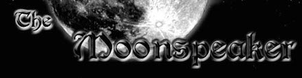 Small title graphic of the Moonspeaker website.
