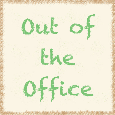 Out of office graphic.